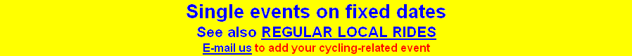 Single events on fixed dates